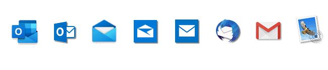 メジャーなメールサーバー情報 | iCloud Yahoo Gmailなど