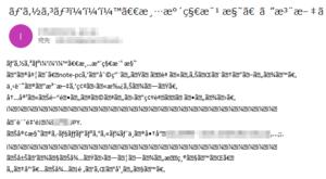 メール文字化け Outlook で修正するにはこうする
